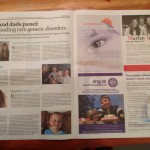 See Naitbabies news in today's national newspaper The Independent-Genetics Disorder Campaign 2015