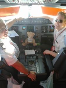 Trainee pilot Virgin Atlantic Flight 23 March 2014 New York to London