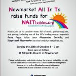 UPDATE – October Charity concert at All Saints Church, Newmarket raises £1,023!!