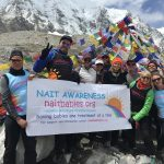 Mt Everest basecamp, Nepal….. Siobhan's 50th birthday challenge!!!!