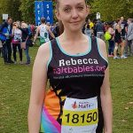 NAIT mum's sister Rebecca raises over £400 running the Royal Parks Half Marathon!!!
