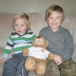 Lana Lindell-Rhett 6 and Bennett 2yrs
