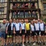 Intrepid Psigma team ride the Normandy coast from Cherbourg to Dieppe, France!!