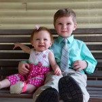 Sam 4 and Abby 14 months