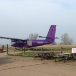 The purple plane