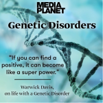 Supporting #MediaplanetUK and this years Genetic Disorders Campaign!