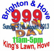 Brighton and Hove 999 Fun Day 2013