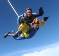 Gazza's parachuting for NAIT awareness!!! Update 31st March