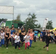 Kids go NUTS!!!!! and raise £330