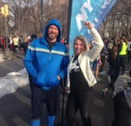 Crazy lady and mad husband does NYC fund-raising extravaganza 2015!