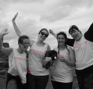 Kelly and her team climb the South Wales 3 peaks!!