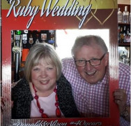 Donald and Alison's Ruby wedding Anniversay!!!!!