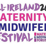 "11 February 2020. All set up for the first ever ""All Ireland"" Maternity and Midwifery Festival, Dublin!!"
