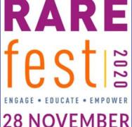 Cambridge Rare Disease Network announce #RAREfest20!! Sat 28 November!! a free on-line festival of events!!!!
