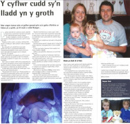 Nia Llwyd Lewis's article in the Welsh language magazine Golwg