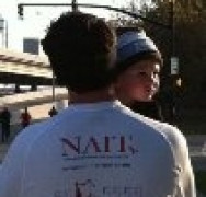 Finn Hickey joins family and friends running for nait awareness